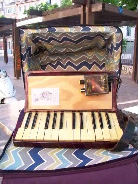 housse accordéon