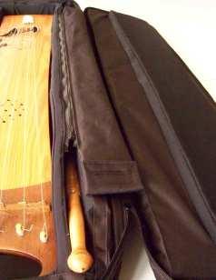 housse de toun-toun - tambourin à corde - luthier olivier feraud