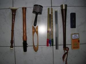 sac a soufflants - instruments