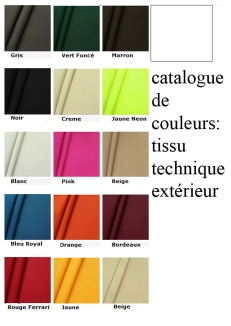 color catalog: exterior technical fabric