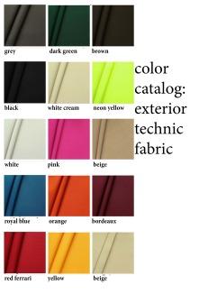 color catalog: exterior technical fabric