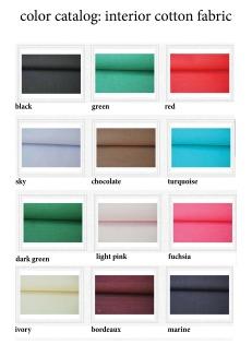 color catalog: interior cotton fabric